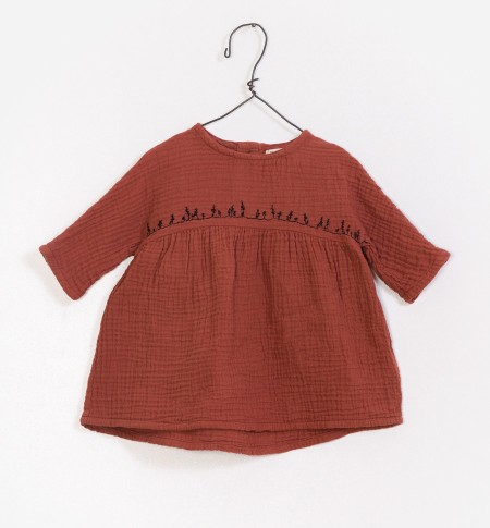 Gauze Dress 9-12m
