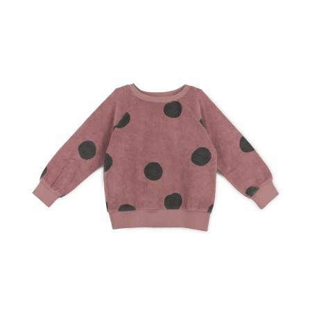 Geo Sweatshirt Grape 3-6m