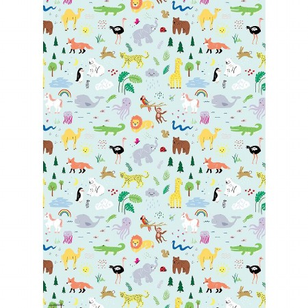 Gift Wrap Roll Animals (WNP)