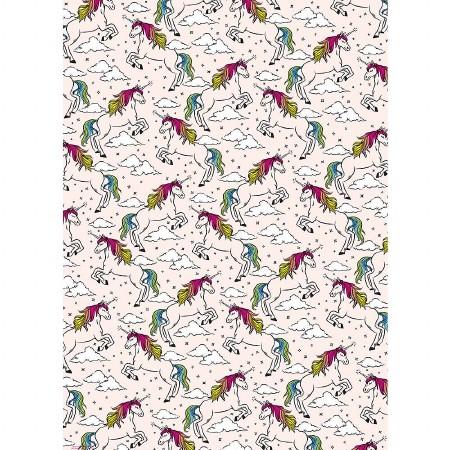 Gift Wrap Roll Unicorns (WNP)