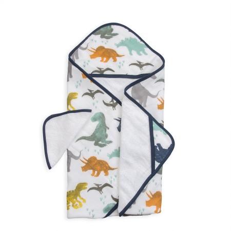 Hooded Towel Set Dino Friends