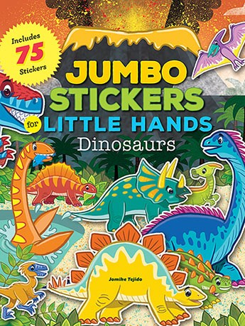 Jumbo Stickers Dinosaurs