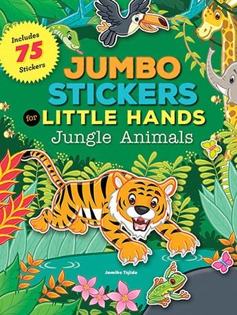 Jumbo Stickers Jungle Animals
