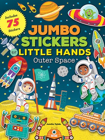 Jumbo Stickers: Outer Space