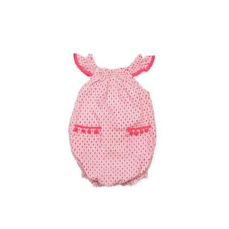 Kiera Romper Pink 3-6m