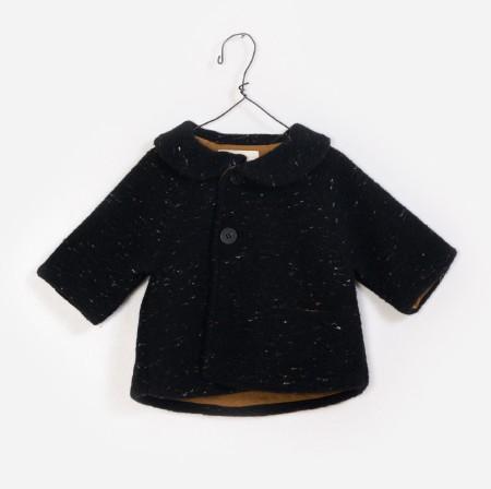Knit Jacket Black 12-18m
