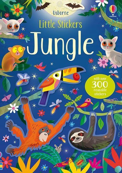 Little Sticker Book Jungle