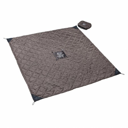Monkey Mat Quilted Gray