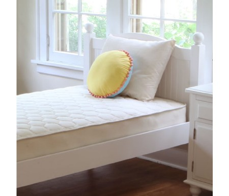 Twin Organic Cotton Quilted Deluxe Mattress
