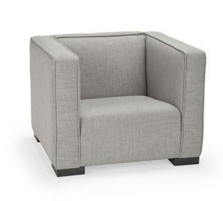 Opie Chair Pebble Grey