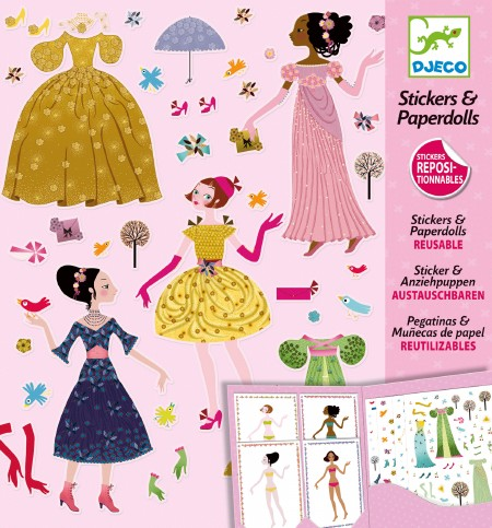 Paper Dolls-Dresses Seasons