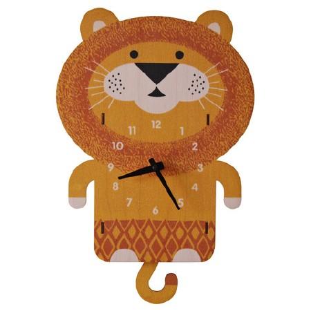 Lion Pendulum Clock