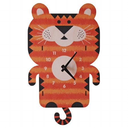 Tiger Pendulum Clock