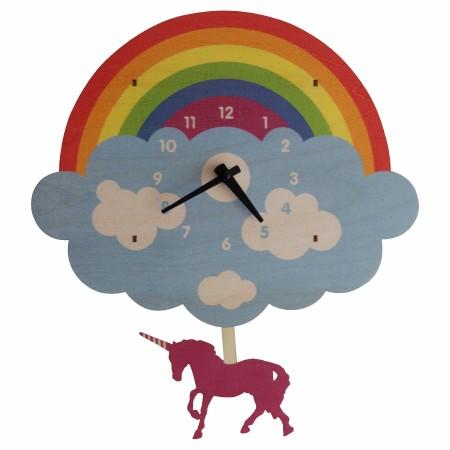 Unicorn Pendulum Clock