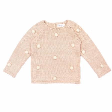 Pom Pom Sweater Shell 3-6m