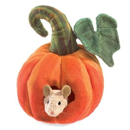 Puppet Mouse in Pumpkin