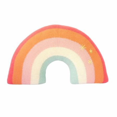 Rainbow Pillow Pink