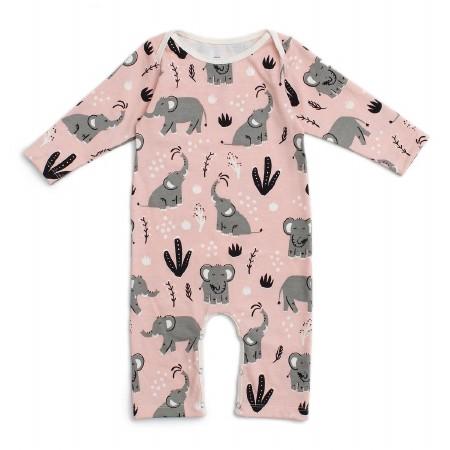Romper Pink Elephant 3-6m