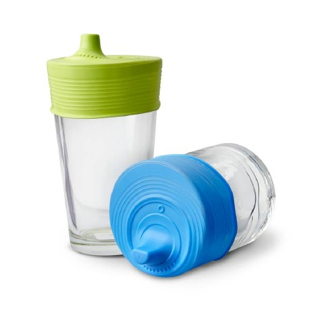 Silicone Sippy Tops 2pk