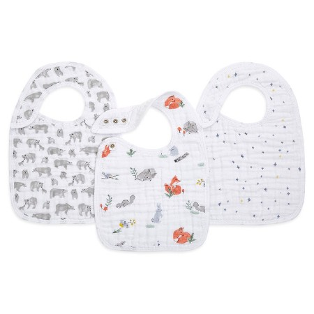 Snap Bib Naturally 3pk