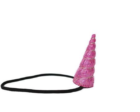 Sparkle Tween Horn Hot Pink