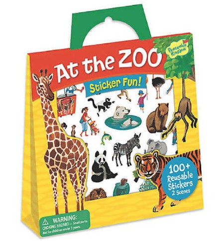 Stickers Tote At the Zoo