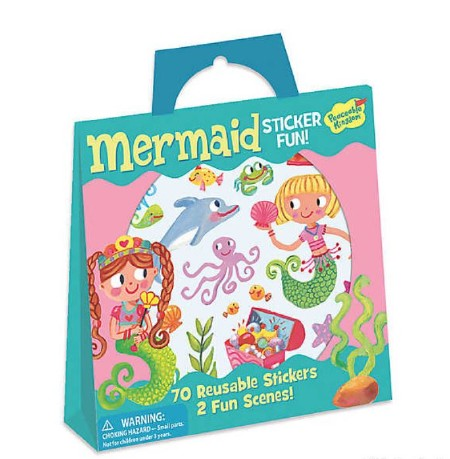 Stickers Tote Mermaid