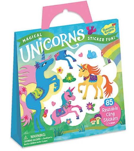 Stickers Tote Unicorns