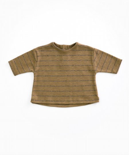 Striped Top Mustard 3-6m