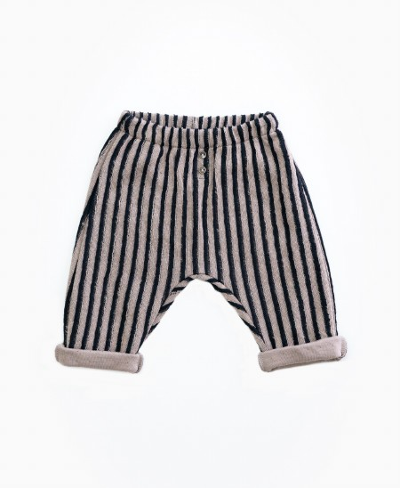 Striped Trousers 3-6m