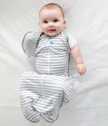Swaddle Up Hip Harness Grey M