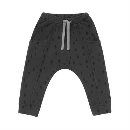 Sweatpant Black Spots 12-18m