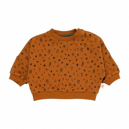 Sweatshirt Flora Almond 18-24m