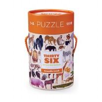 100pc Puzzle 36 Wild Animals