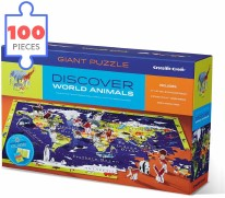 100pc Puzzle Discover Animals