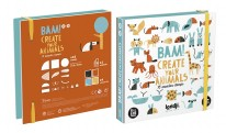 16pc Wooden Stamps- Animals