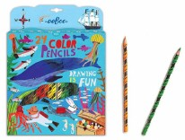 24pc Color Pencils- In the Sea