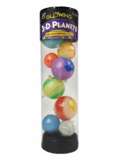 3D Stars & Planets in a Tube