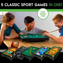 5-in-1 Sport Table Top Center