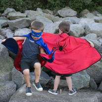 Reversible Adventure Cape Set