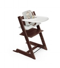 Tripp Trapp High Chair and Cushion with Stokke Tray