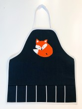 Art Apron Handmade Fox