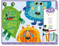 Collage- Happy Monsters