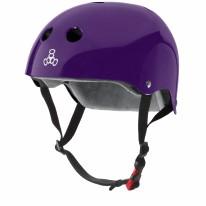 Helmet CS Purple Glossy S/M
