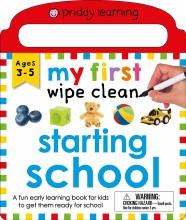 My First Wipe Clean: Starting School
