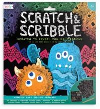 Scratch & Scribble Monsters