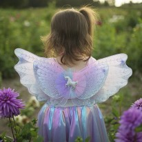 Unicorn Skirt + Wings Set 4-6Y