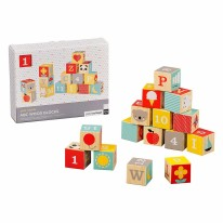 ABC Wooden Blocks 15pc