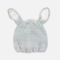 Bailey Bunny Grey 0-3M