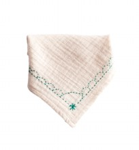 Bandana Bib Mermaid Green